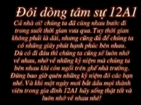lớp 12 A1 khóa 2008-2011 trường THPT Bình Thanh