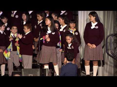 De Marillac Academy Choir Performance at the 13th Annual Scholarship Benefit