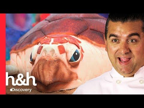 Un pastel de tortuga marina | Cake Boss | Discovery H&H