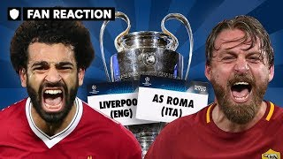 CAN LIVERPOOL BEAT ROMA IN THE SEMI-FINALS? | CHAMPIONS LEAGUE DRAW FAN REACTION