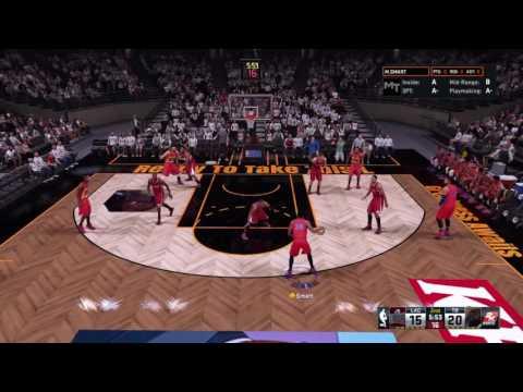 NBA 2K16 MyTeam Me vs Clippers Pt 1