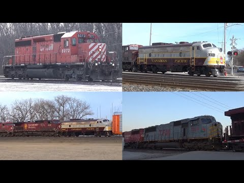 Railfanning CP at Nahant Yard with great power! TFM, FP9, and more!