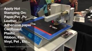 digital foil printer machine