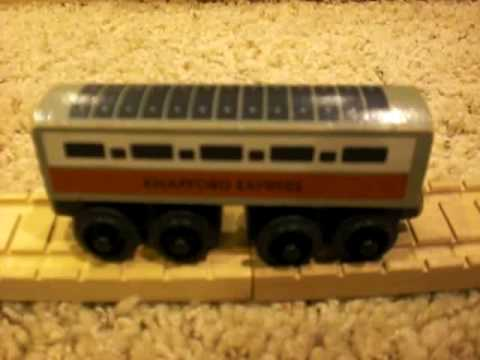 1994 Knapford Express Coach Review Thomas Wooden Railway Discussion 1