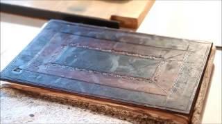 Cambridge panel binding - Georgian trade bookbinding