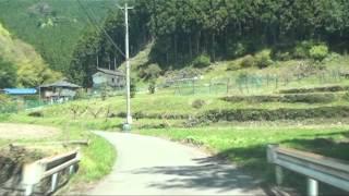 【車載動画】栃木県道めぐりシリーズ r280入粟野引田線