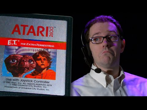 E.T. Atari 2600 - Angry Video Game Nerd - Episode 120 (AVGN MOVIE SPOILER)
