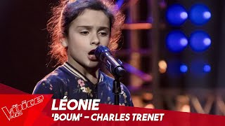 Léonie - 'Boum' | Blind Auditions | The Voice Kids Belgique