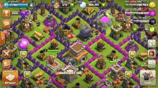Clash of clans new update glitch instant troop training!!!