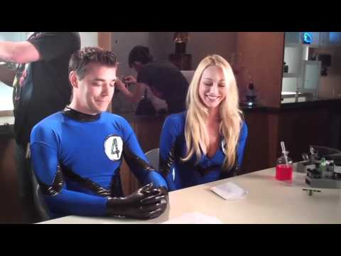 Avengers Assemble - Behind The Scenes with the Fantastic Four