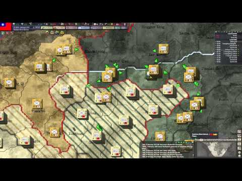 Hearts of Iron 3 #6 China vs USA