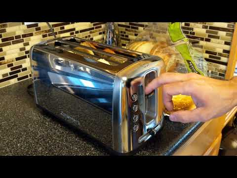 CUISINART TOASTER DEMONSTRATION AND REVIEW