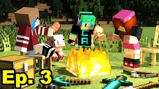 A Minecraft Survival Adventure Series / Episode 03/ A New Player Arrives!