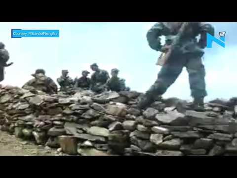 Chinese troops enter in Sikkim sector, destroy two bunkers