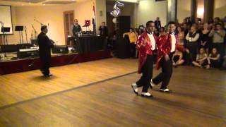 eddie torres jr and adolfo at the lvg salsa social 5th anniversary party 8 24 2013 hd