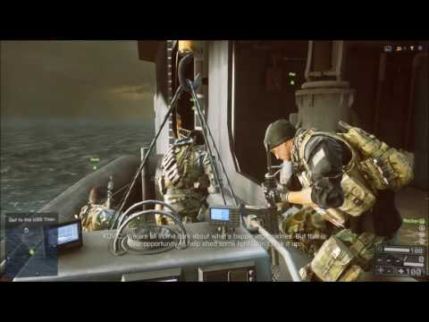 Battlefield 4 | Campaign Playthrough | Mission 03 | South China Sea