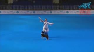 FCI Dog dance World Championship 2016 – Freestyle final - Eibogina Liudmila and Nika (Russia)