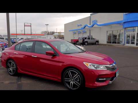 2017 Honda Accord Sport SE Sedan 6H180522A