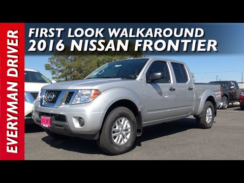Here's the 2016 Nissan Frontier 4x4 on Everyman Driver