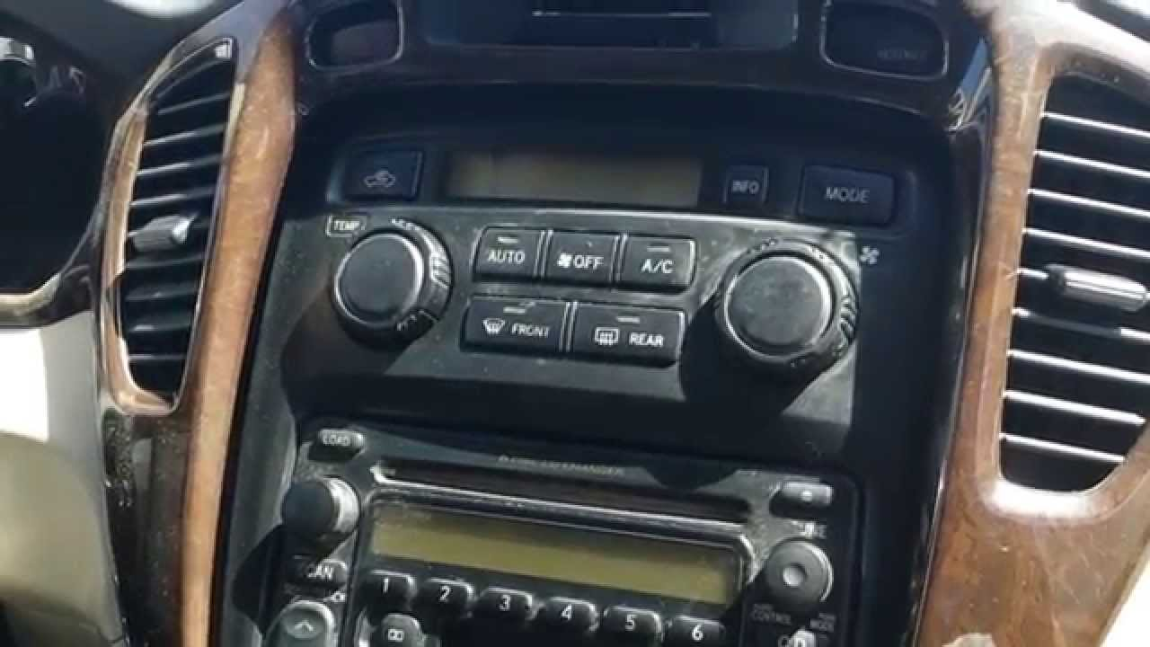 how to remove a c control from toyota highlander 2001 to 2007 for repair  [ 1280 x 720 Pixel ]