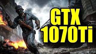 Battlefield 1 GTX 1070 Ti OC (Multiplayer) 1080p Ultra Settings | FRAME-RATE TEST