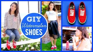 GIY Watermelon Shoes + How I Wear Them! Thumbnail