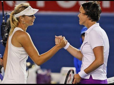 Maria Sharapova vs Lindsay Davenport 2008 AO Highlights