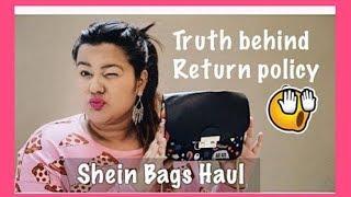 SHEIN BAG | FIRST IMPRESSION | RETURN POLICY | MINI HAUL | MANAVI J