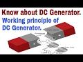 What is DC Generator ? Working Principle of DC Generator. HINDI