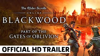 ESO Blackwood Gates of Oblivion Cinematic Trailer