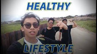 Healthy Lifestyle (ft. Chardified and Josh Ambayec) | Liwaliw Vlogs #18
