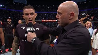 UFC 264: Dustin Poirier Octagon Interview