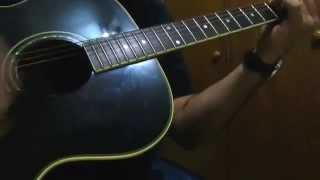 La casa - caramelos de cianuro COVER guitarra