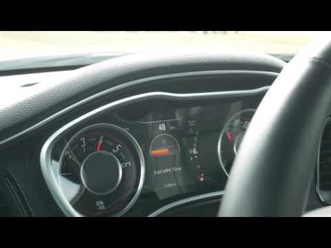 Dodge Challenger SXT+ 0-60 Times