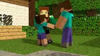 Historia do Herobrine Minecraft animação
