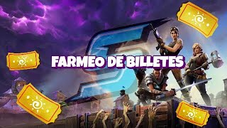 WAITING DAYS OF BIRTHDAY, LIVE TICKETS FARM!! - Fortnite Save the World