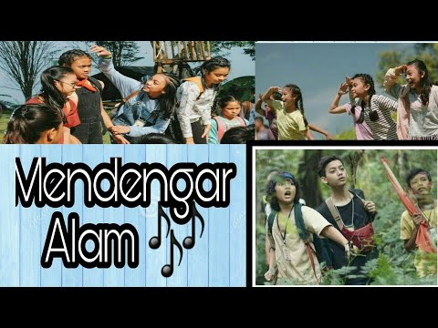 Naura-Mendengar Alam (official video lyric) ||Naura AM