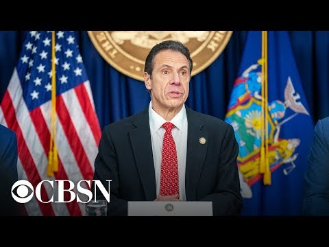 Watch live: New York Governor Andrew Cuomo holds a press conference