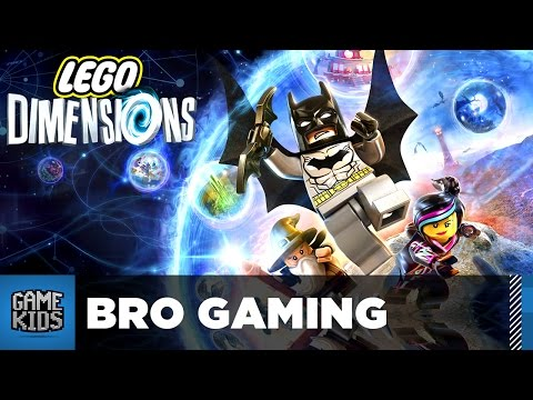 Lego Dimensions Set Build And Let's Play - Bro Gaming