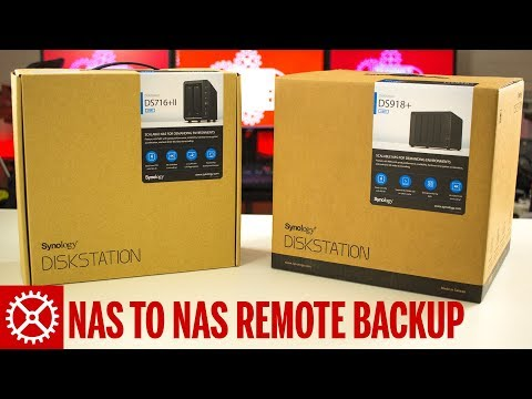Synology NAS to NAS Remote Backup Using Hyper Backup Tutorial