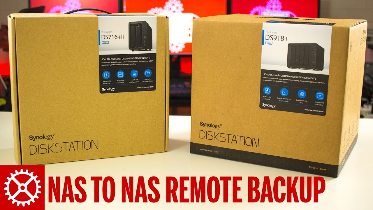 Synology NAS to NAS Remote Backup Using Hyper Backup