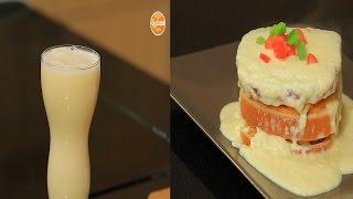 سندوتش ناجتس بالجبنة المذابة - عصير البرتقال بالأناناس     سندوتش وحاجة ساقعة حلقة كاملة