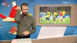 FIFA WC 2018 - BRA vs. SUI – for Deaf and Hard of Hearing - International Sign