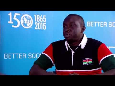 ITU TELECOM WORLD ENTREPRENEURSHIP AWARD 2015 INTERVIEW:  Felix Kimaru, Totohealth
