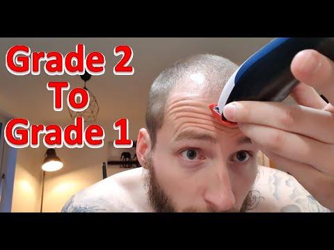 Grade 2 to grade 1 buzz cut!
