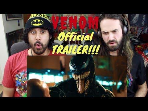 VENOM - Official TRAILER REACTION!!!