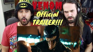 VENOM - Official TRAILER REACTION!!!