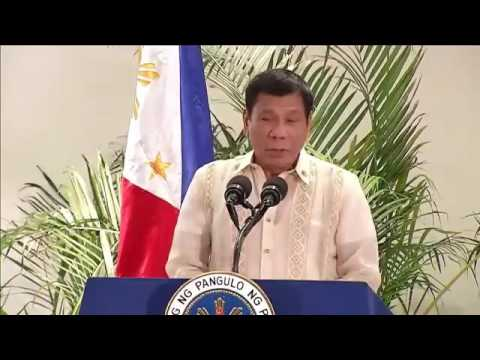 Duterte on being compared to Donald Trump: I am just a small molecule in this planet