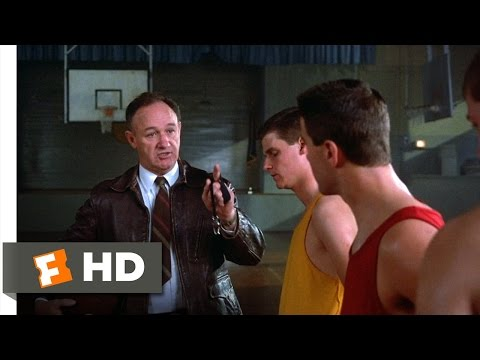 Hoosiers (2/12) Movie CLIP - Coach Meets His Team (1986) HD