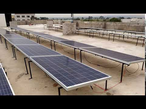 Bosch Solar Panels India - 10 KW Solar Panel System Installed in India